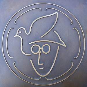 John Lennon Memorial Plaque